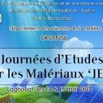 Journées d'études sur les matériaux JEM2014